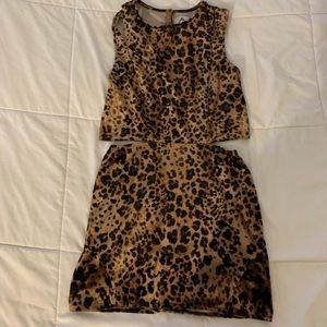 Unif Leopard dress 🐾